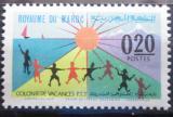 Poštovní známka Maroko 1964 Děti a slunce Mi# 536