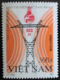 Poštovní známka Vietnam 1993 Elektrické vedení Mi# 2527