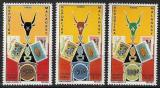 Poštovní známky Madagaskar 1972 Celostátní výstava Antananarivo Mi# 653-55