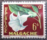 Poštovní známka Madagaskar 1959 Květina Mi# 440