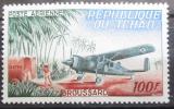 Poštovní známka Čad 1963 Poštovní letadlo Mi# 107