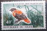 Poštovní známka Niger 1970 Euplectes franciscanus Mi# 271