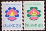 Poštovní známky Island 1964 Skauting Mi# 378-79