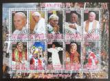 Poštovní známky Čad 2012 Papež Jan Pavel II. Mi# N/N