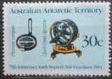 Poštovní známka Australská Antarktida 1984 Přístroje Mi# 61