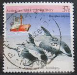 Poštovní známka Australská Antarktida 1988 Delfíni Mi# 79