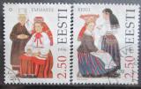 Poštovní známky Estonsko 1996 Lidové kroje Mi# 274-75
