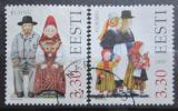 Poštovní známky Estonsko 1997 Lidové kroje Mi# 306-07