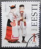 Poštovní známka Estonsko 1994 Lidové kroje Mi# 235