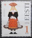 Poštovní známka Estonsko 1994 Lidové kroje Mi# 236