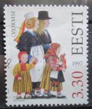 Poštovní známka Estonsko 1997 Lidové kroje Mi# 307