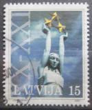 Poštovní známka Lotyšsko 2000 Památník osvobození Mi# 529