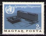 Poštovní známka Maďarsko 1966 Ústředí WHO Mi# 2237