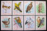Poštovní známky Maďarsko 1968 Ptáci Mi# 2398-2405