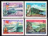 Poštovní známky Maďarsko 1968 Balatonské jezero Mi# 2417-20