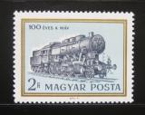 Poštovní známka Maďarsko 1968 Lokomotiva Mi# 2422