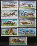 Poštovní známky Maďarsko 1968 Dostihy Mi# 2423-31