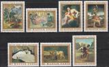 Poštovní známky Maďarsko 1969 Umění Mi# 2506-12
