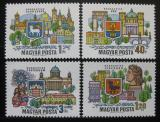 Poštovní známky Maďarsko 1969 Města na Dunaji Mi# 2514-17