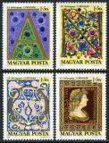 Poštovní známky Maďarsko 1970 Den známek Mi# 2603-06