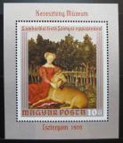 Poštovní známka Maďarsko 1970 Umění Mi# Block 78