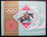 Poštovní známka Maďarsko 1972 LOH Mnichov Mi# Block 91