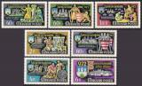 Poštovní známky Maďarsko 1972 Rytíři Mi# 2782-88