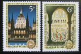 Poštovní známky Maďarsko 1972 Parlament Mi# 2790-91