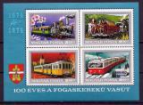 Poštovní známky Maďarsko 1974 Železnice Mi# Block 107