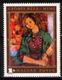 Poštovní známka Maďarsko 1974 Umění, Czóbel Mi# 2977