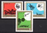 Poštovní známky Maďarsko 1974 Lidová armáda Mi# 2982-84