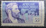 Poštovní známka Francouzská Rovníková Afrika 1938 Pierre Savorgnan Mi# 43