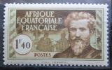 Poštovní známka Francouzská Rovníková Afrika 1940 Paul Crampel Mi# 54