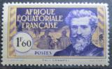 Poštovní známka Francouzská Rovníková Afrika 1940 Paul Crampel Mi# 56