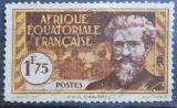 Poštovní známka Francouzská Rovníková Afrika 1937 Paul Crampel Mi# 57