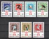 Poštovní známky Maďarsko 1976 LOH Montreal Mi# 3125-31