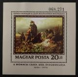 Poštovní známka Maďarsko 1976 Umění, Székely Mi# Block 120