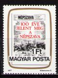 Poštovní známka Maďarsko 1977 Noviny Mi# 3191