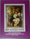 Poštovní známka Maďarsko 1977 Umění, Rubens Mi# Block 123 Kat 10€
