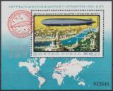 Poštovní známka Maďarsko 1977 Historie letectví Mi# Block 127