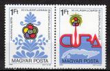 Poštovní známky Maďarsko 1978 Hry mládeže Mi# 3303-04