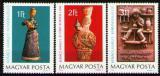 Poštovní známky Maďarsko 1978 Keramika Mi# 3323-25