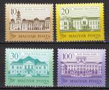 Poštovní známky Maďarsko 1987 Zámky Mi# 3901-04 Kat 11€