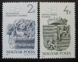 Poštovní známky Maďarsko 1987 Den známek Mi# 3918-19
