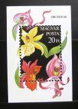 Poštovní známka Maďarsko 1987 Orchideje Mi# Block 192