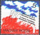 Poštovní známka Maďarsko 1989 Francouzská revoluce, 200. výročí Mi# 4024
