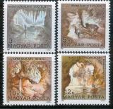 Poštovní známky Maďarsko 1989 Jeskyně Mi# 4043-46