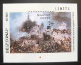 Poštovní známka Maďarsko 1989 Umění Mi# Block 205