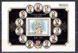 Poštovní známka Maďarsko 1989 Oběti z Aradu Mi# Block 206