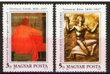 Poštovní známky Maďarsko 1990 Umění, Ferenczy Mi# 4095-96